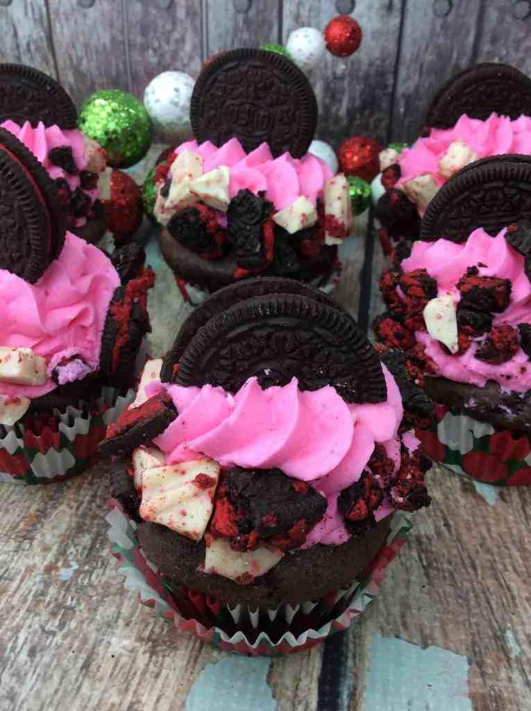 Valentine's Day Oreo Cupcakes