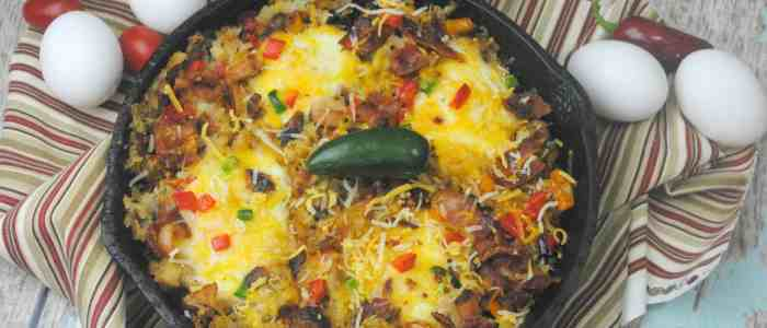 Southwest Breakfast Cast Iron Meal