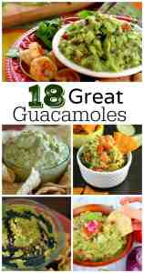 18 Great Guacamole Recipes