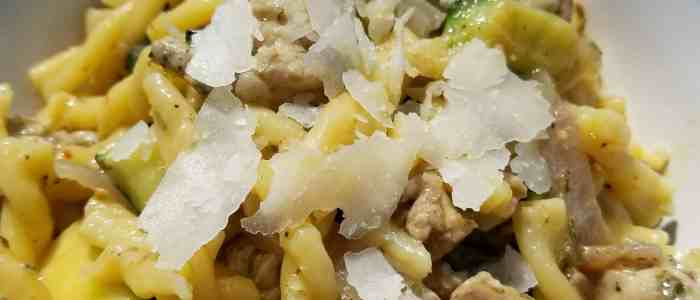 Tuscan Style Pork Loin and Pork Belly Pasta Recipe