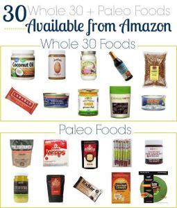 Whole 30 and Paleo Foods You Can Buy Online