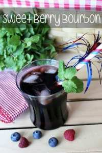 Sweet Berry Bourbon Drink Recipe