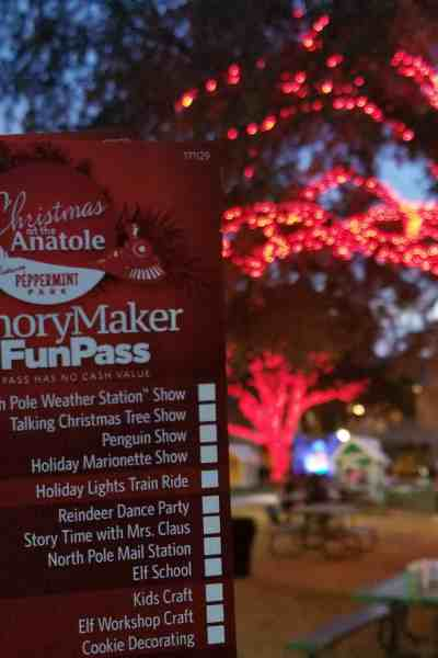 Celebrate Christmas at Hilton Anatole's Peppermint Park