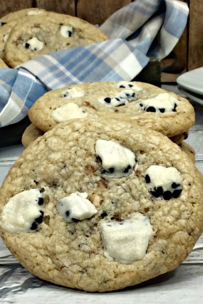 Cookies and Cream Cookies Made With Whoppers