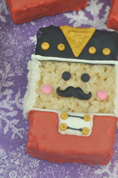 Nutcracker Rice Krispie Treats