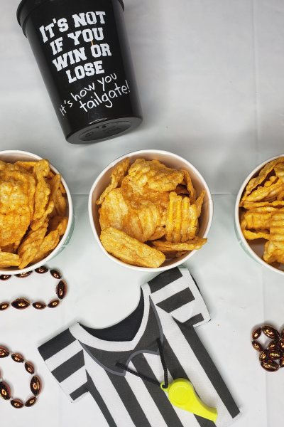 Game Day Snacking with popchips