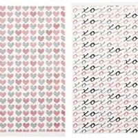 Wilton 710-0157 Hugs, Kisses and Hearts Candy Transfer Sheets