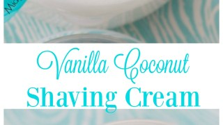 Vanilla Coconut Shaving Cream