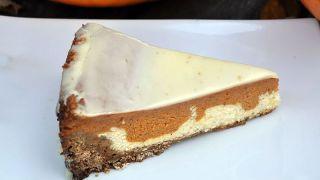 Paradise Pumpkin Pie with White Chocolate Ganache