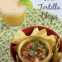 AirFry Corn Tortilla Chips Recipe - All the Taste Without the Fat