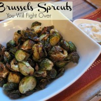 The Brussels Sprouts You Will Fight Over – Airfryer   epicuricloud (Tina Verrelli)