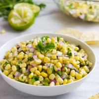 Copycat Chipotle's Corn Salsa