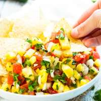 Pineapple Pico de Gallo | Fresh Homemade Salsa