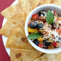 Fresh Fruit Salsa Recipe + Sweet Cinnamon Chips