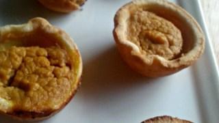 Weight Watchers Pumpkin Pie Tarts