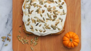 Pumpkin Cake with Maple Cream Cheese Frosting | Recipes