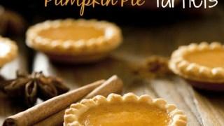 Gluten-Free Pumpkin Pie Tartlets | Singing Through the Rain