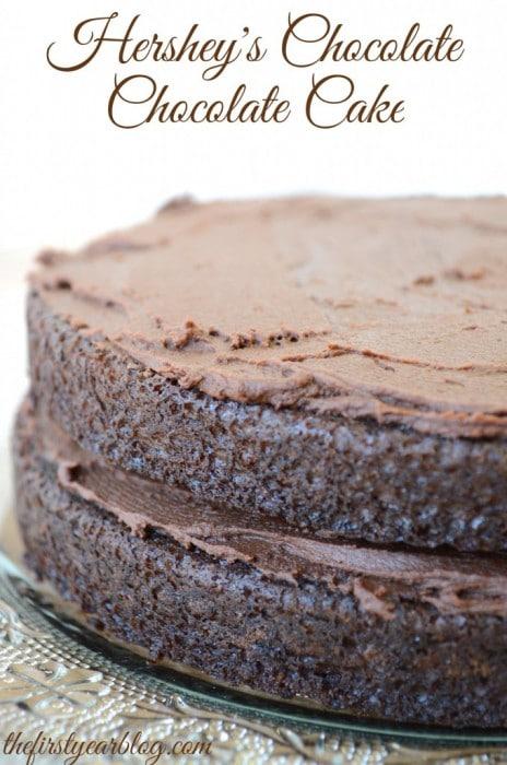 Hershey's Chocolate Chocolate Cake