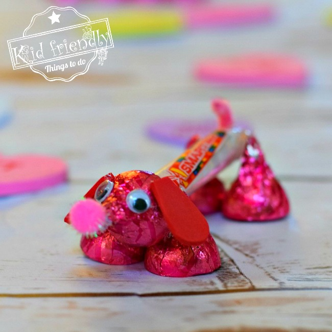 Make a Candy Dog for a Fun Kid's Valentine's Day Craft and Treat