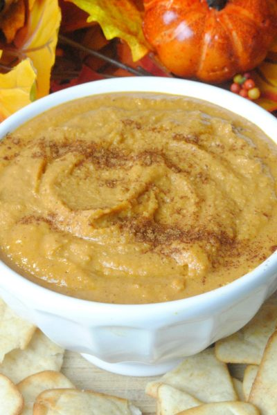 Homemade Pumpkin Hummus