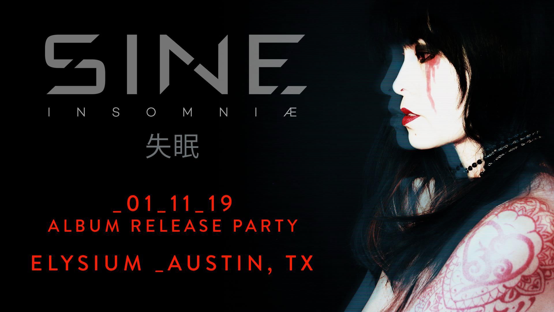 SINE Album Release Party