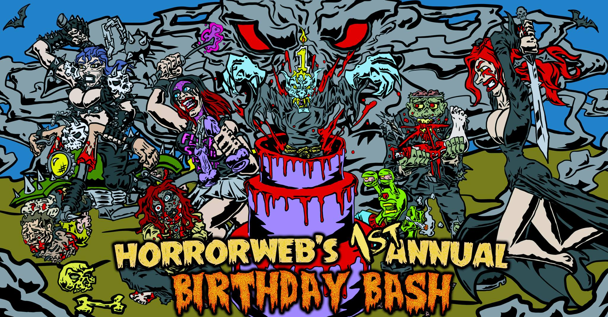 HorrorWeb's First Annual Birthday Bash!