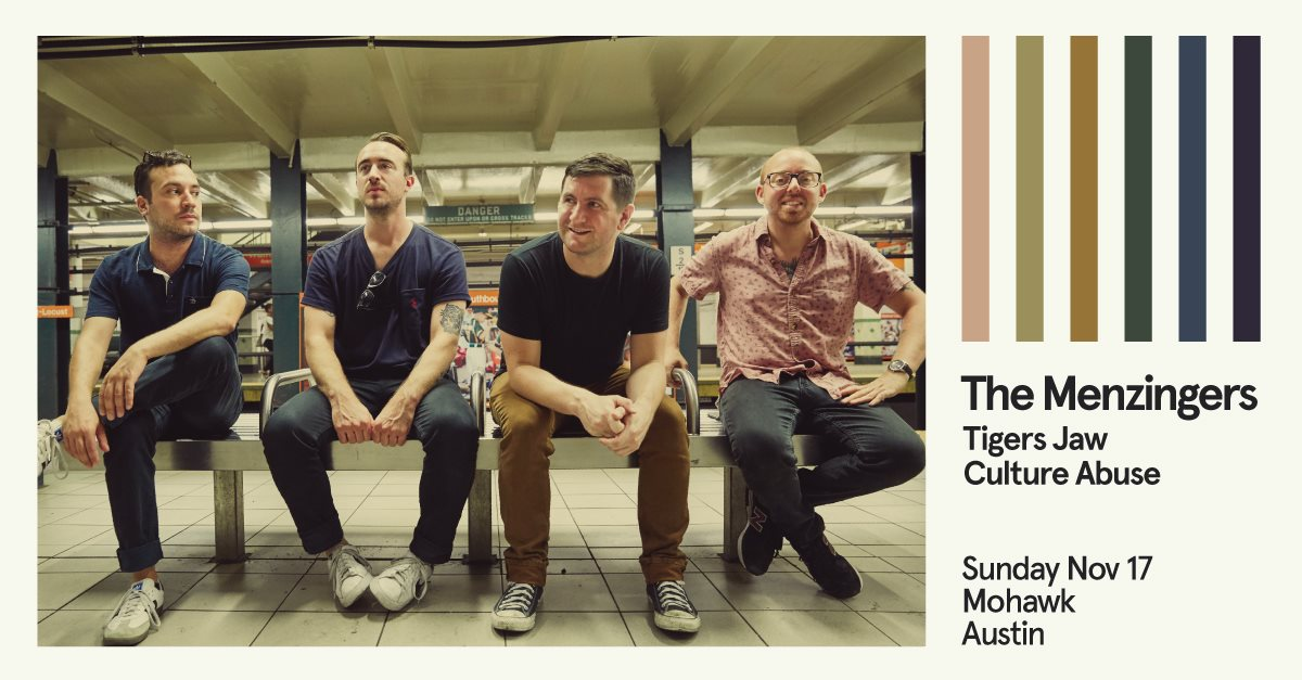 The Menzingers w/ Tigers Jaw & Culture Abuse
