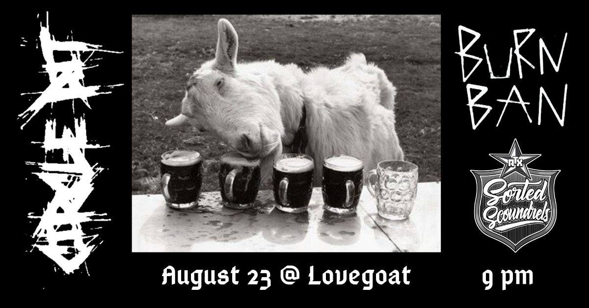 Punk Rock at LoveGoat 8-23
