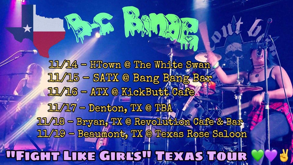 Binge Night ATX: Fight Light Girls Tour!