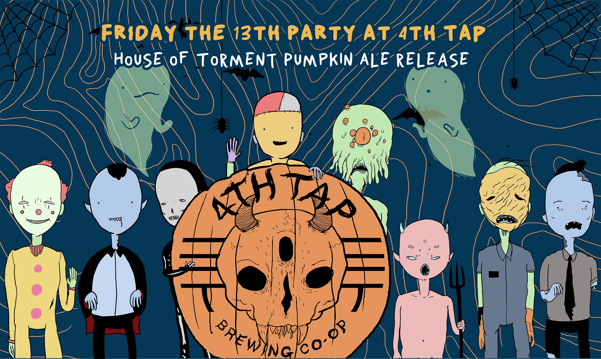 Pumpkin Ale Release Party - House of Torment and 13th Floor
