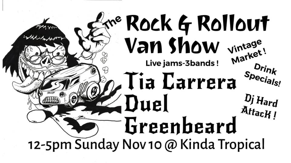 The Rock & Rollout Van show