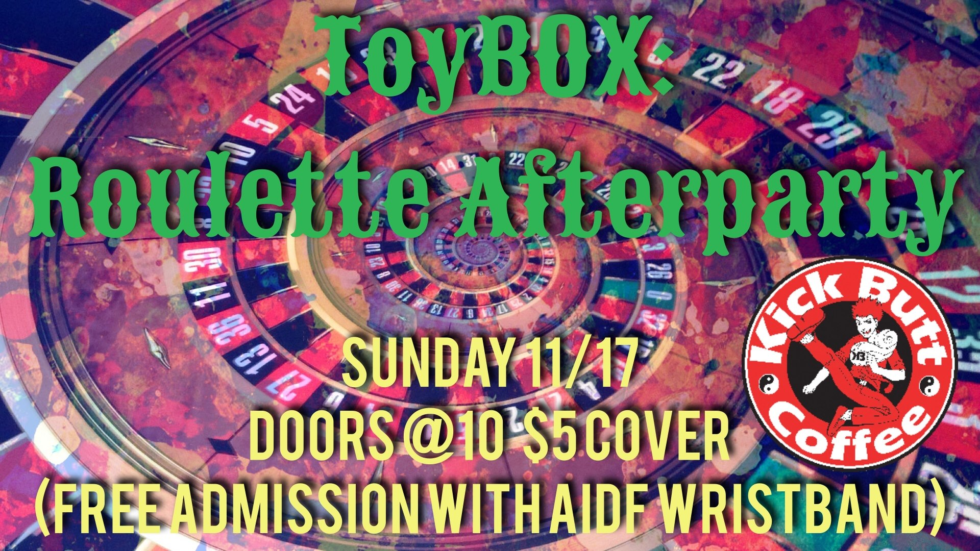 ToyBOX: AIDF Roulette Afterparty