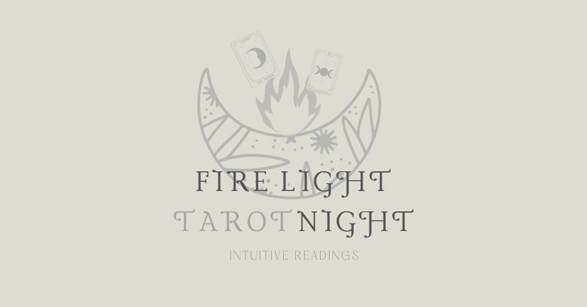 Fire Light Tarot Night | Cards with Kat