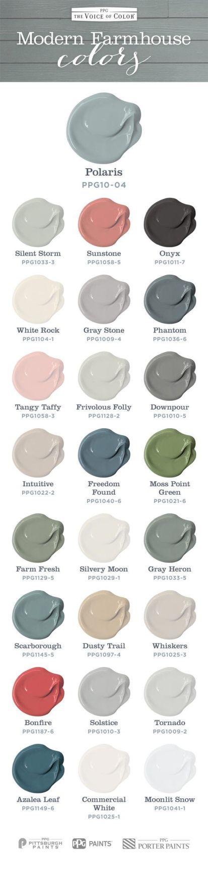 farmhouse colors