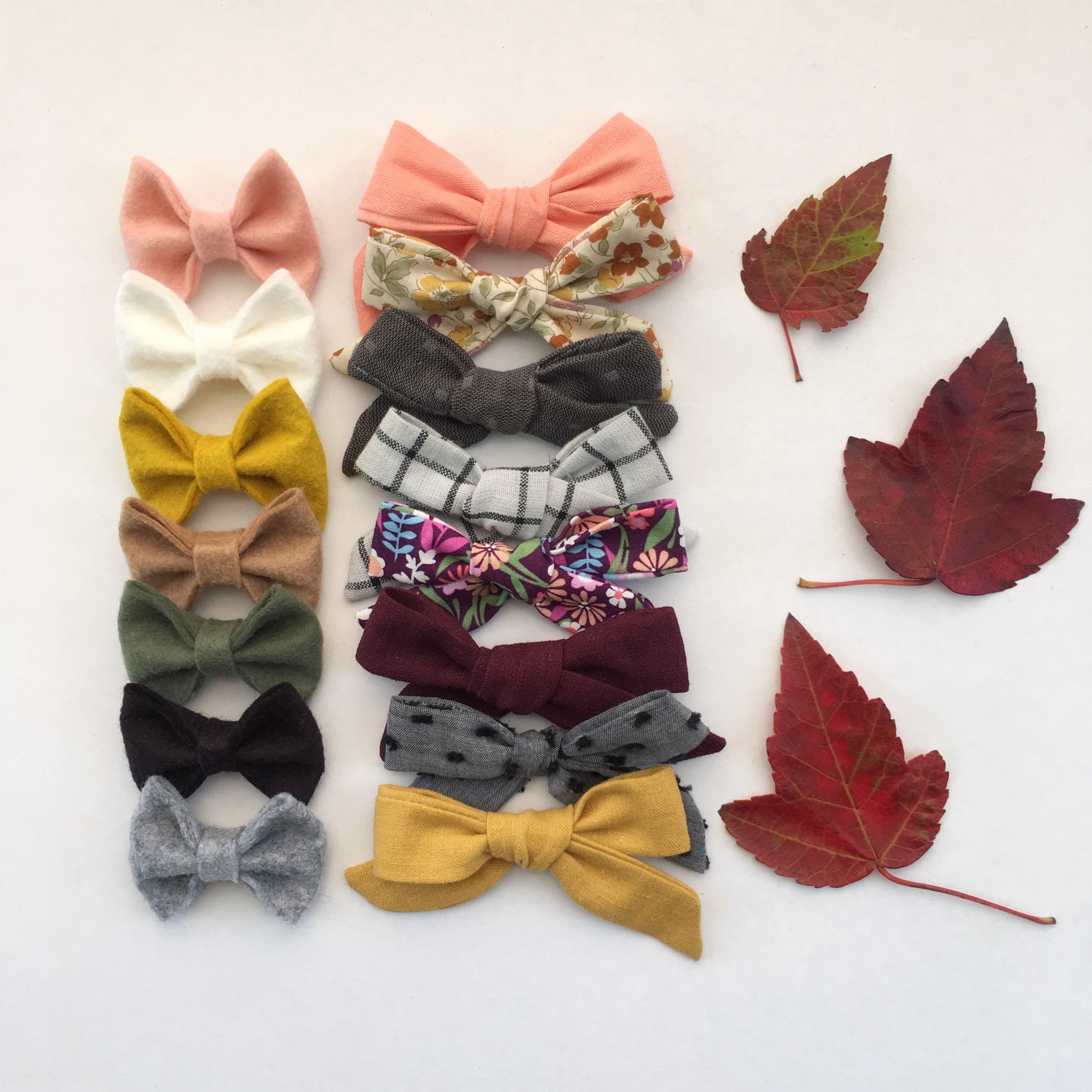 The Darling Dahlia Bows