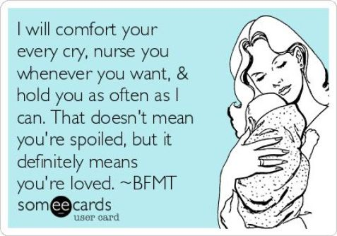 I will comfort you-Nursing a toddler