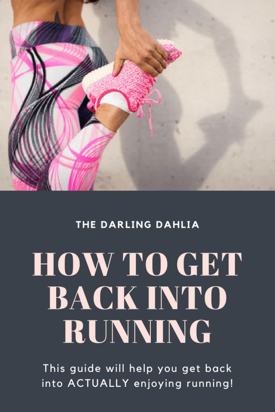 Guide to get back into running