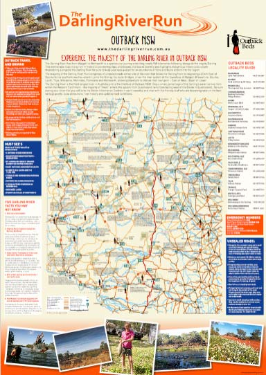 Outback Travel Map - The Darling River Run