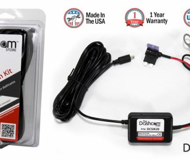 Dashcam Installation Kit 12v Fuse Tap To 5v Usb Plug With Packaging Composite Image