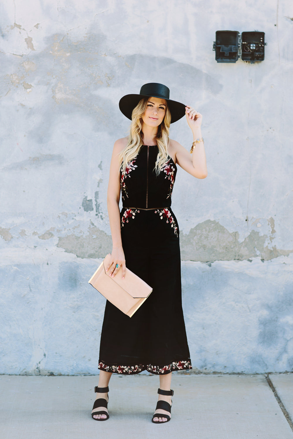Zimmermann Floral Embroidered Jumpsuit For Summer