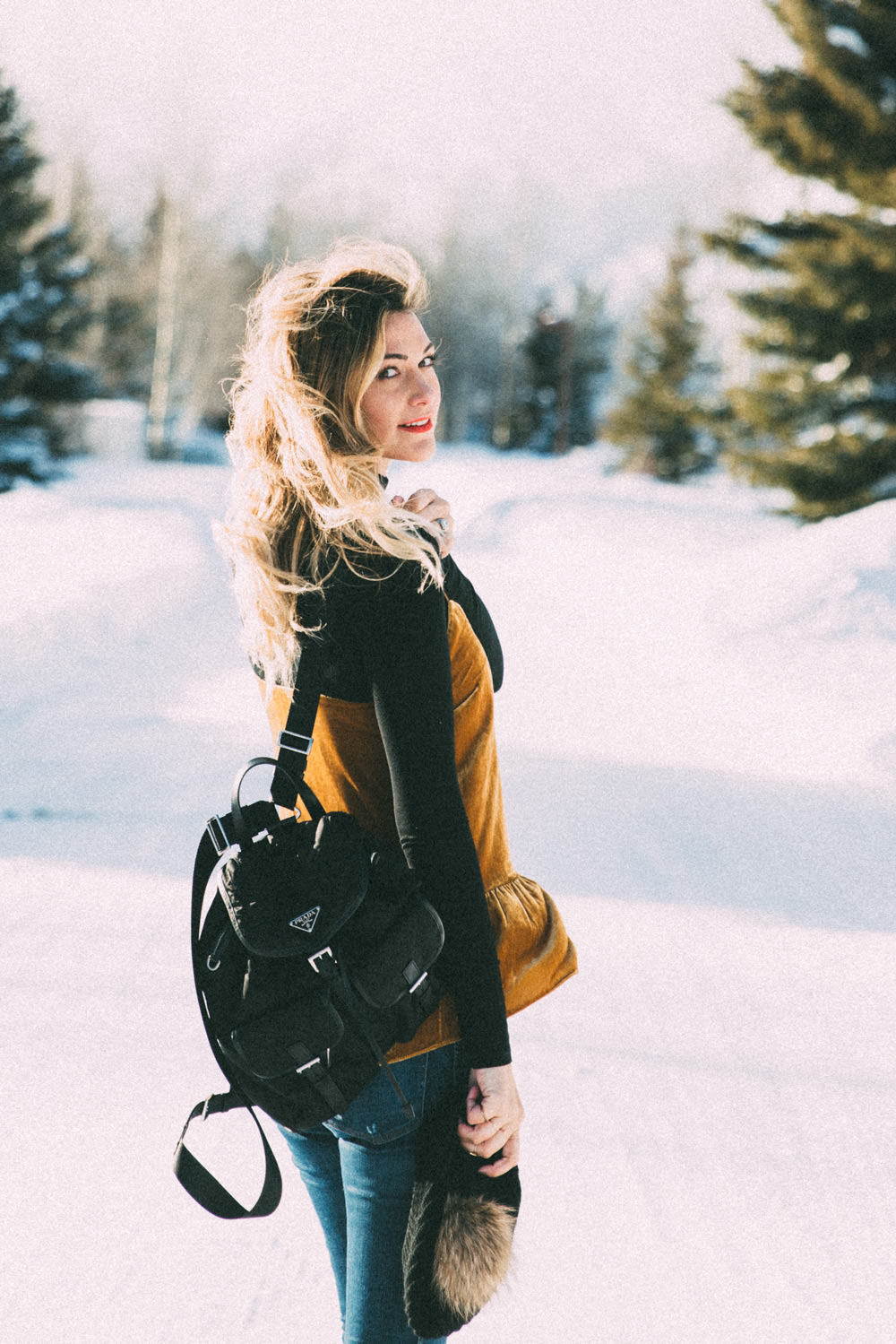 Dash Of Darling Winter Date Night Outfit In Jackson Hole