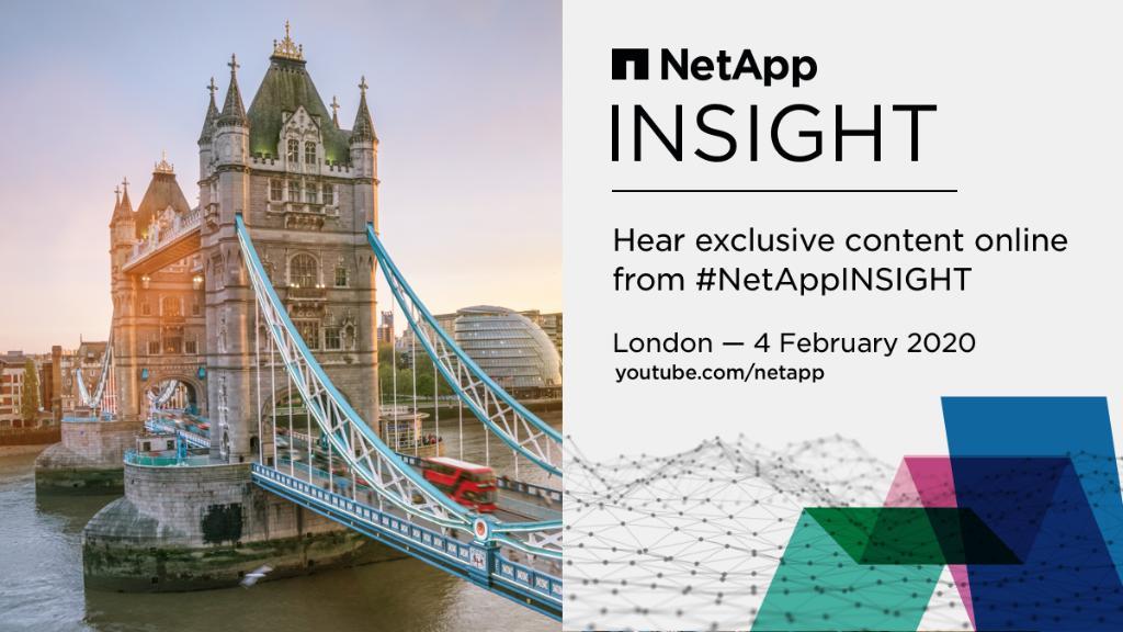 NetApp INSIGHT+ Banner