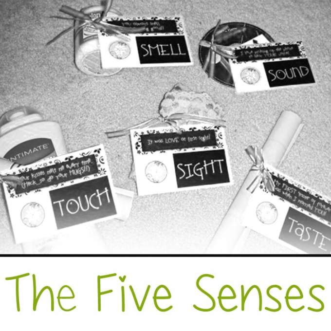 The Five Senses Gift Comes With Free Printable Tags