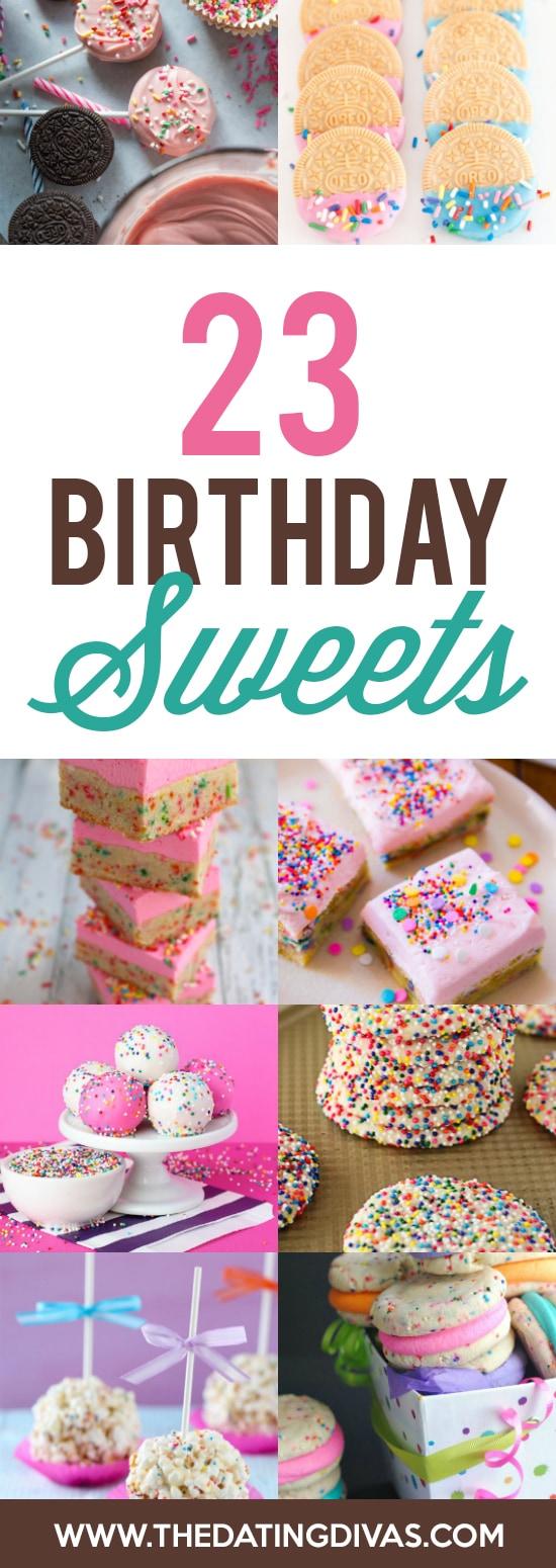 Sweets Birthday Treats