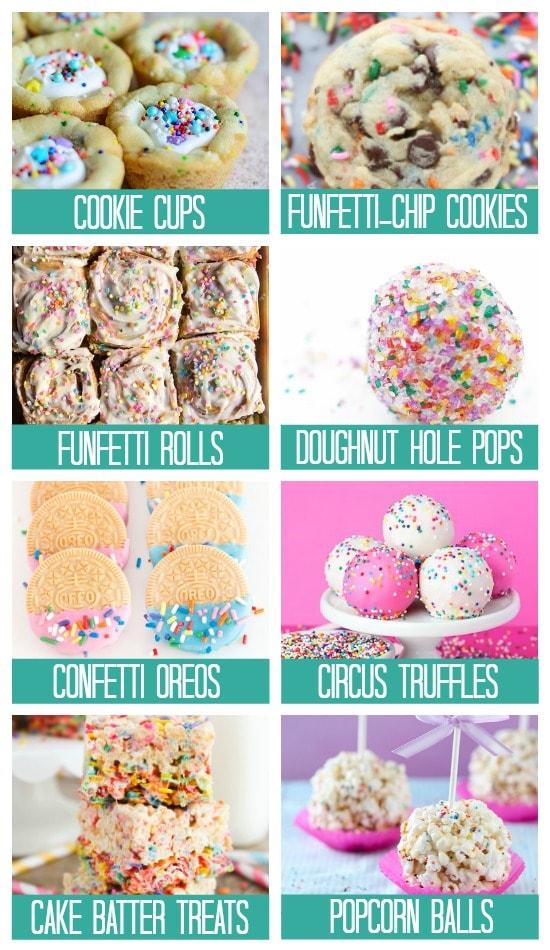 Birthday Treats and Sweets