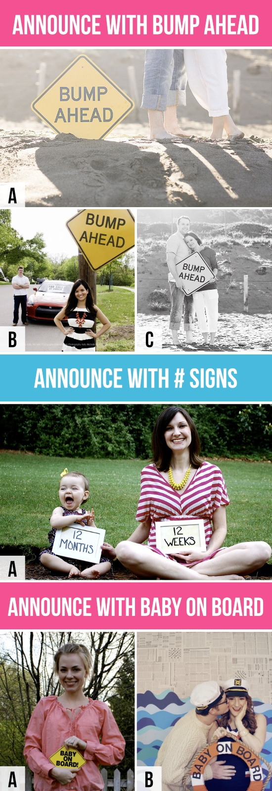 50 Creative Pregnancy Announcements The Dating Divas