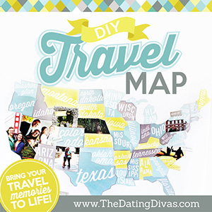 travel memories map