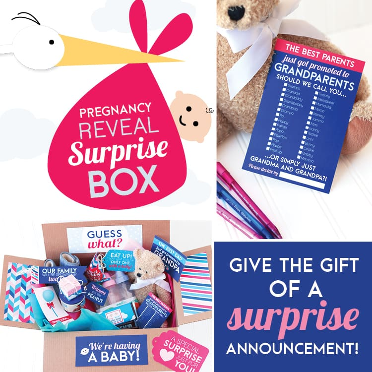 Pregnancy Reveal Box