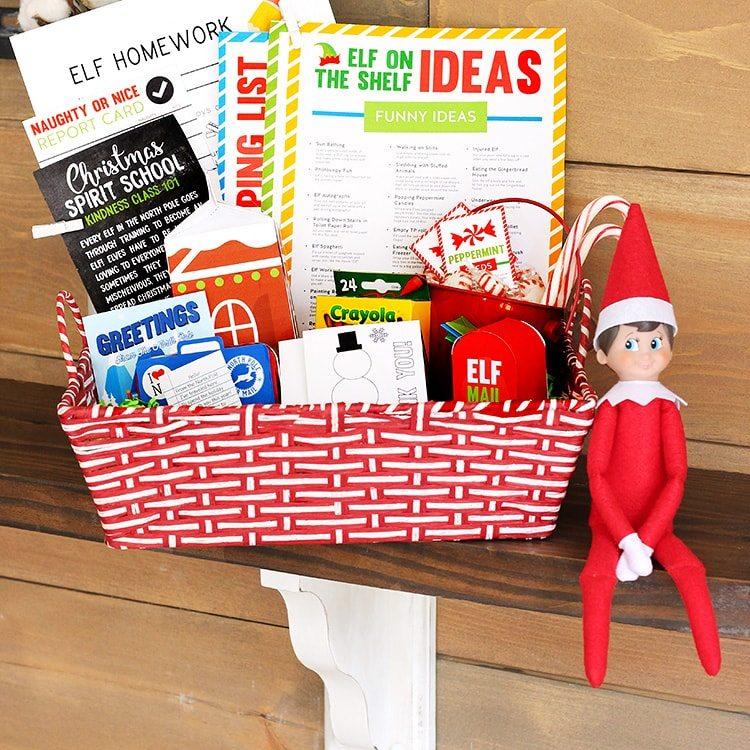 Elf On The Shelf Printables Kit The Dating Divas