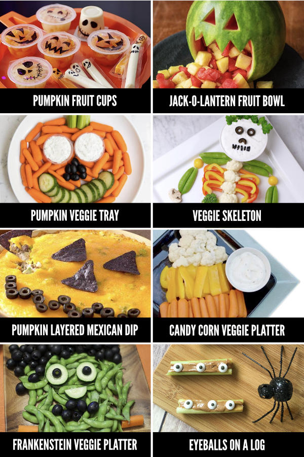 halloween veggie tray fun halloween food ideas for every meal from the dating divas